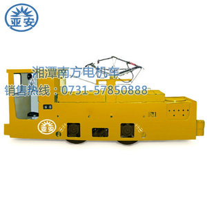 14TWire type industrial and mining electric locomotive